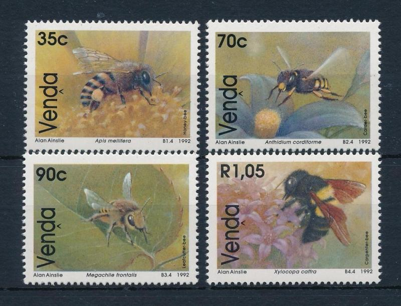 [52510] Venda 1992 Insects Insekten Insectes Bees MNH