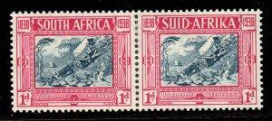 South Africa 1938 Voortrekker Cent Memorial Fund 1d+1d SG 77 mint