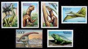2000 Gabon 1566-70,97 Dinosaurs 8,00 €