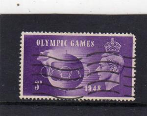 Great Britain 1948 Olympic Games used