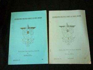 CZECHOSLOVAK PHILATELIC SOCIETY OF GREAT BRITAIN MONOGRAPH + SUPPLEMENT