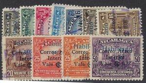 NICARAGUA C175-85 USED $2.75 BIN $1.10 PLACES
