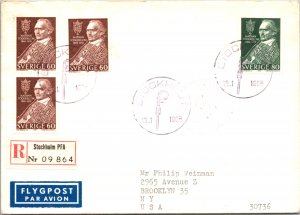Sweden, Worldwide First Day Cover