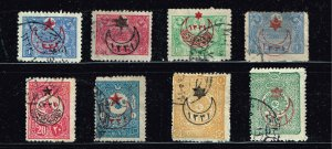 Turkey Stamp  USED S TAMPS COLLECTION LOT #1