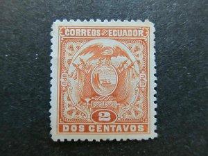A4P46F60 Ecuador 1897 2c mint no gum