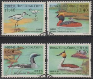 Hong Kong 2003 Water Birds Stamps Set of 4 Fine Used