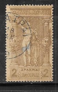 Greece #126   Olympics (U) CV $105.00