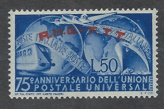 TRIESTE - ZONE A SC# 40 VF MNH 1949