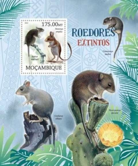 Mozambique MNH S/S Rodents 2012