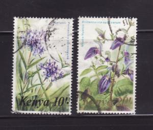 Kenya 259-260 U Flowers (A)
