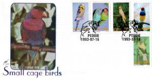 Ciskei - 1993 Cage Birds FDC SG 227-231