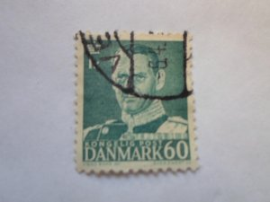 DENMARK STAMP. USED. NO HINGE, # 31