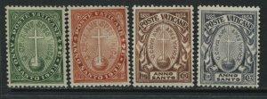 Vatican 1933 Holy Year Semi-Postal set mint hinged