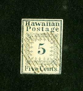 Hawaii Stamps # 2 VF Reprint For Reference Only