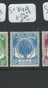 MALAYA KEDAH (PP0710B) LEAF 20C  SG 84A  MOG
