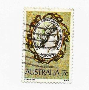 Australia 1972 - U - Scott #518 *