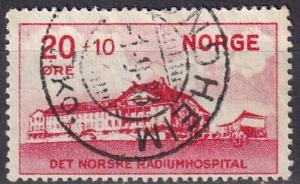 Norway #B4  F-VF Used  CV $10.00 (A18764)