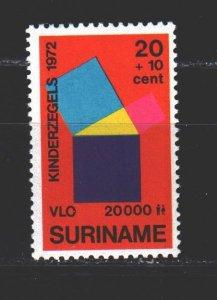 Suriname. 1972. 640 from the series. Mathematics, Pythagorean Theorem. MNH.