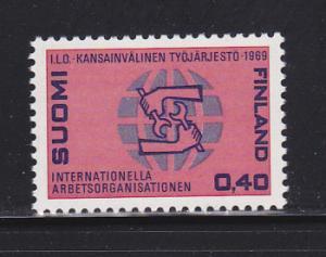 Finland 484 Set MNH ILO (A)