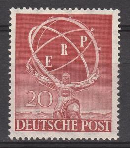 BERLIN 1950 RECOVERY 20PF MNH **