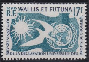 Wallis and Futuna 153 MNH (1958)