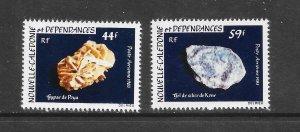 MINERALS - NEW CALEDONIA #C187-8 MNH