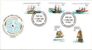 Australian Antarctic Territory, Polar, Ships