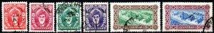 1952 Zanzibar Sg 342/349 Short Set of 6 Values Fine Used