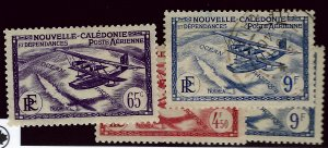 New Caledonia C1, C3 Mint, C4 Mint & Used F-VF SCV$7...French Colonies are Hot!