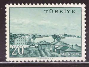 TURKEY Scott 1404 MH* 32.5x22mm stamp