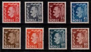 Norway Scott 310-17 Mint hinged (Catalog Value $63.50)