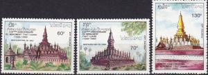 Laos #980-82 MNH  CV $6.50 (A19751)