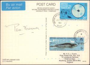 British Antarctic Territory #135, Antarctic Cachet and/or Cancel