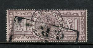 Great Britain #110 (SG #185) Used Fine Imperial Crowns Watermark
