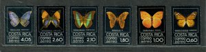 Costa Rica Sc#c759-c764 M/NH/VF, Cv. $53