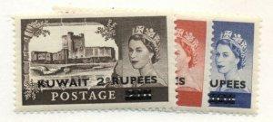 KUWAIT #117-19, Mint Never Hinged, Scott $33.00