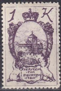 Liechtenstein #42  F-VF Unused  (SU7190)