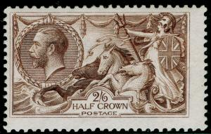 SG413a, 2s 6d olive-brown, NH MINT. Cat £350.