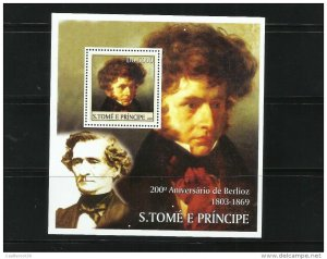 O) 2003 SAO TOME AND PRINCIPE, HECTOR BERLIOZ-COMPOSER OF RO
