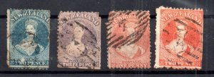 New Zealand QV Chalon Head collection (faults) WS16772