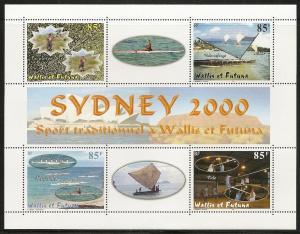Wallis and Futuna Islands 531 2000 Olympics s.s. NH