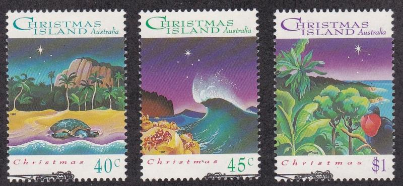 Christmas Island # 148-151, Red Land Crabs, Used Set, 1/2 Cat