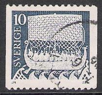 Sweden #955 Viking Ship Used