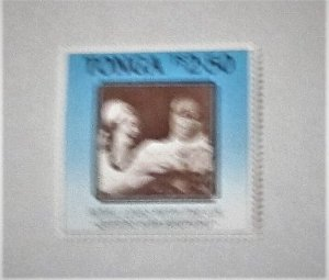 Tonga - 628, MNH. King and Queen. SCV - $6.00