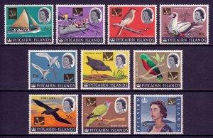 Pitcairn Islands - Scott #72//84 - Short set - MNH - See description - SCV $21