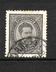 PORTUGAL 1884 500r  BLACK  FU  P12 1/2 SG 216