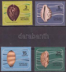 Tokelau Islands stamp Shellfish set MNH 1974 Mi 34-37 WS144896