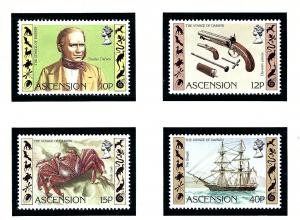 Ascension 305-08 MNH 1982 Charles Darwin