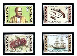 Ascension 305-08 MNH 1982 Charles Darwin