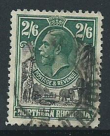 Northern Rhodesia  SG 12 FU